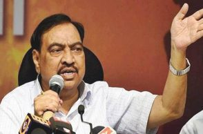 Eknath Khadse, Eknath Khadse rats claim, Maharashtra government, Vinayak Mazoor Cooperative Society, Maharashtra PWD Ministry, Chandrakant Patil, Indian Express